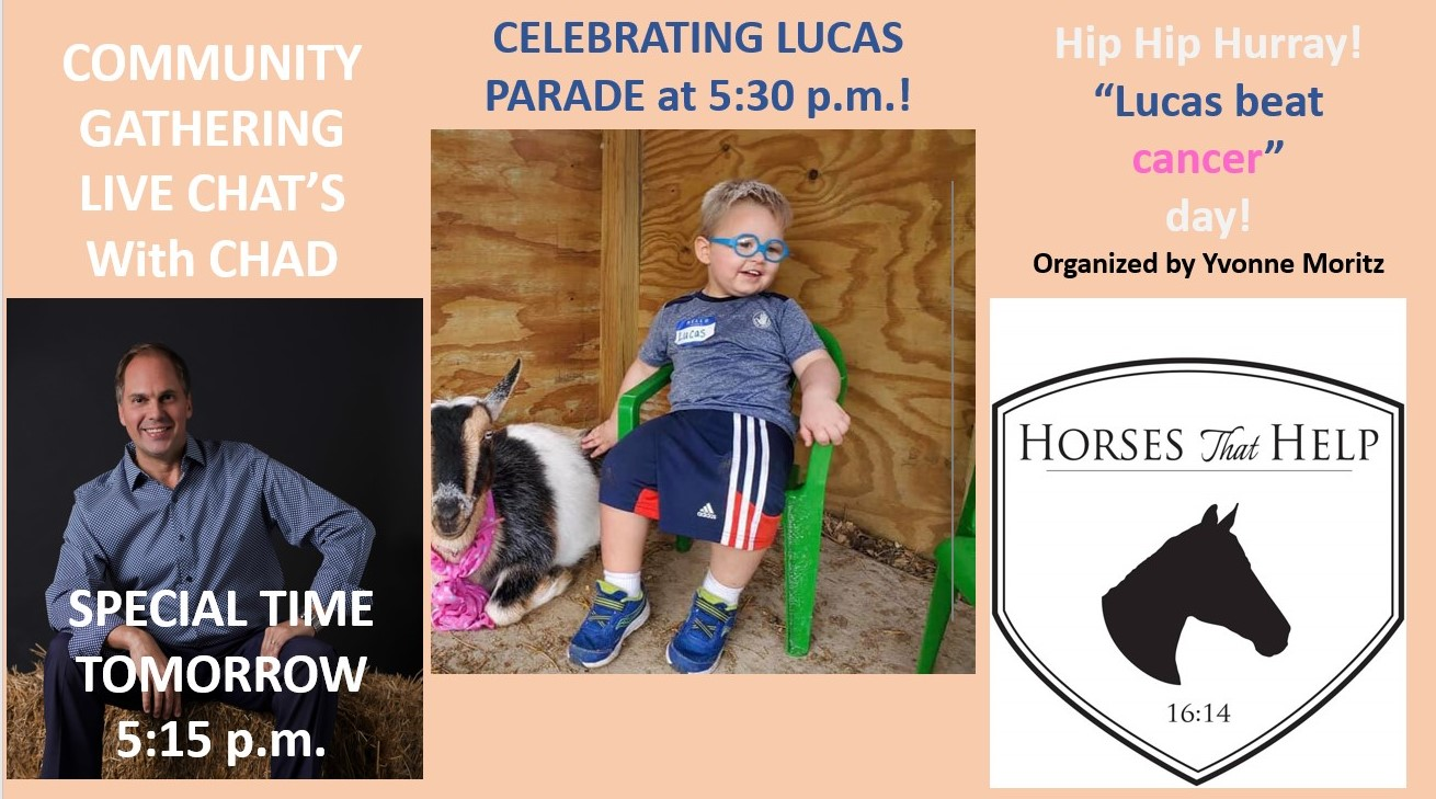 Celebrating Lucas Horses That Help